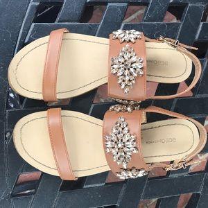 BCBG Jeweled sandals!!!